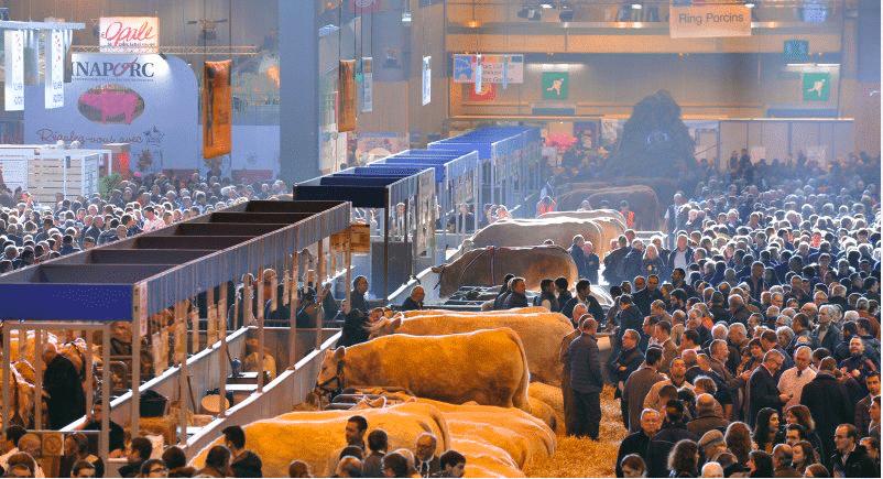 le salon international de l'agriculture est la plus grande ferme du monde