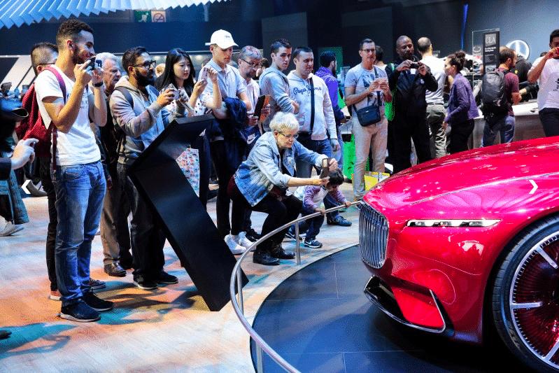 le mondial de l'auto accueille plus d'un million de visiteurs chaque année