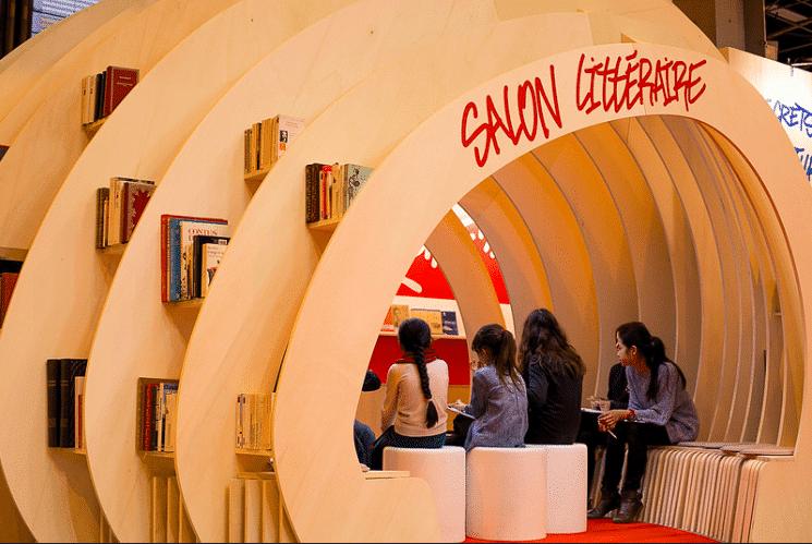 le salon du livre est idéal pour aller à la rencontre d'auteurs du monde entier et de leurs éditeurs