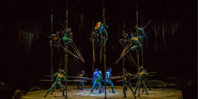 animations cirque événementiel Marseille, Cirque du soleil réalité augmentée