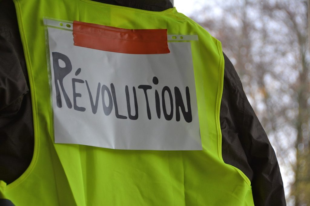 Gilets jaunes impact événementiel en France