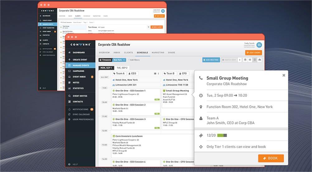 WeConvene outils marketing évènementiel