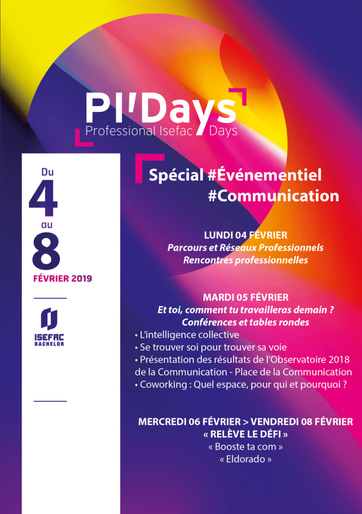 PI'Days de l'Isefac