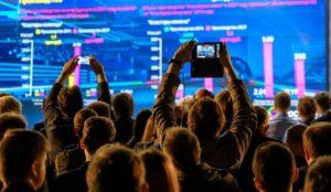 Live Events étude technologie événements en live