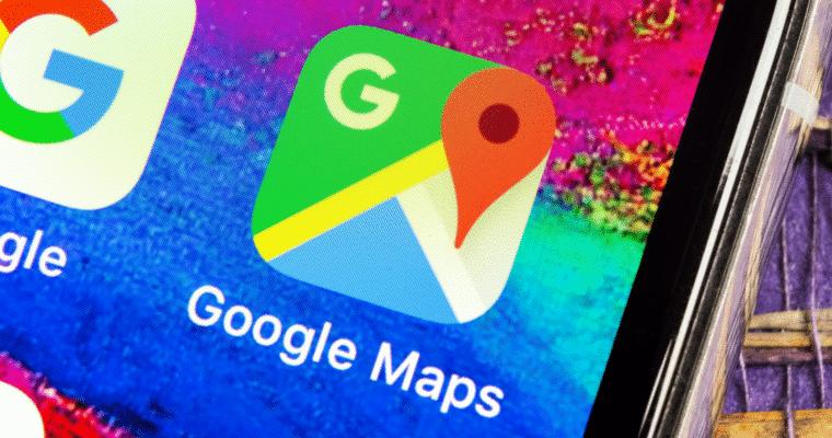 Google Maps évènement