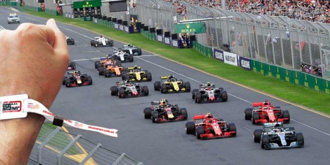 tappirt Grand Prix de Formule 1 Australie Melbourne