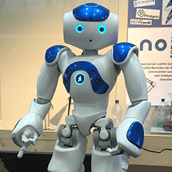 robot animation digitale