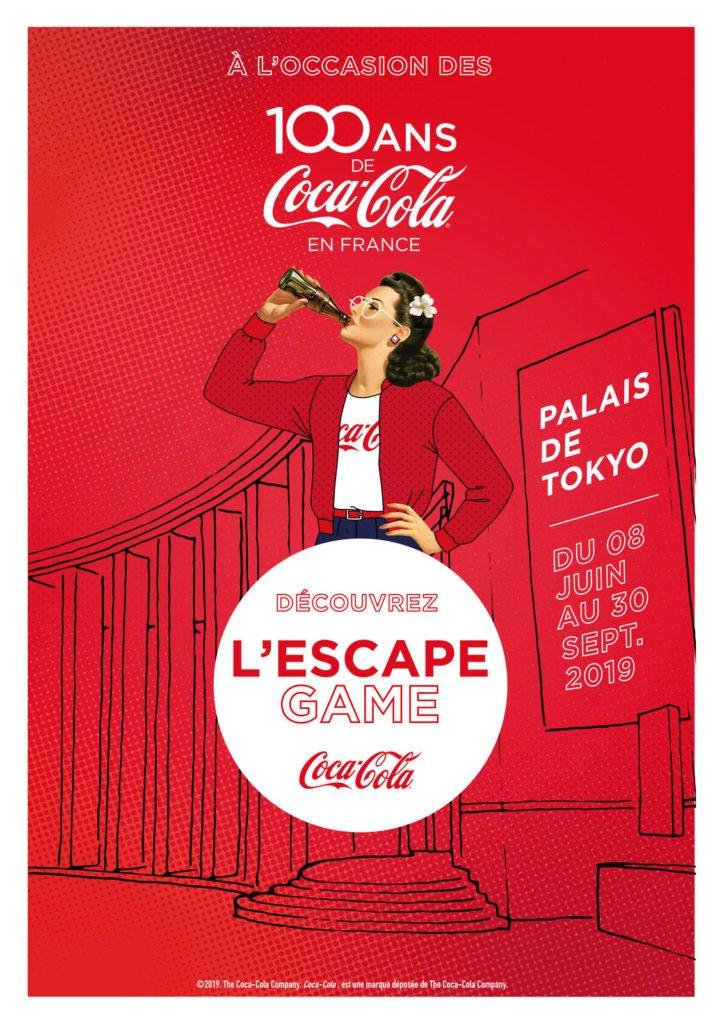 Escape Room Coca Cola Palais de Tokyo