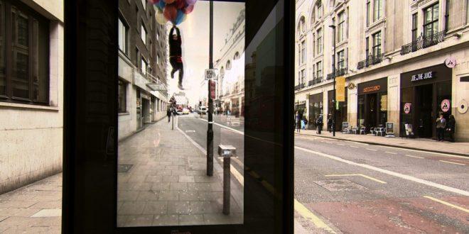 Abri-bus innovant en tant que support événementiel