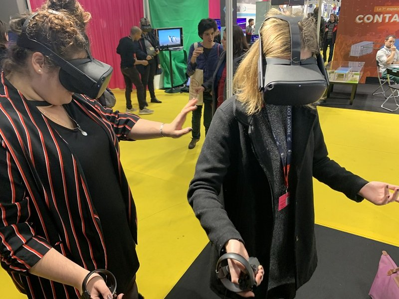 escape game VR nomaade