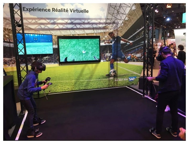 animation football VR
