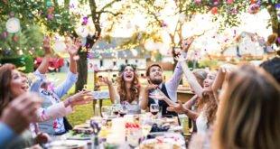 mariage champêtre : événement en plein air