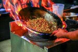 menu pour soirée chinoise
