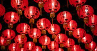 soirée chinoise lanternes décoratives
