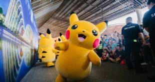 mascotte événement pikachu