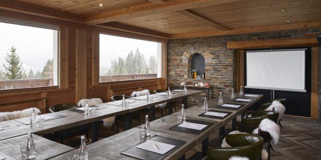 hôtels en montagne événementiel chalet alpen valley
