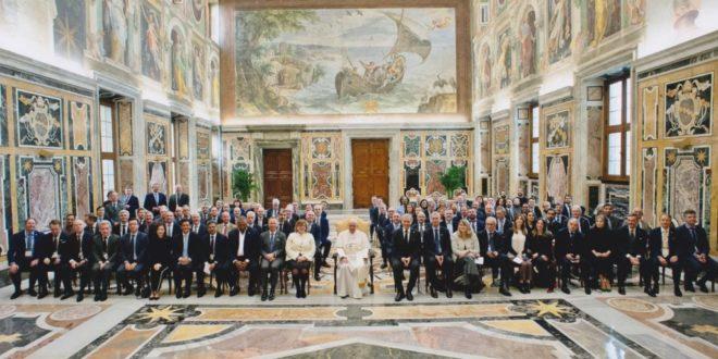 rencontre Pape - UFI