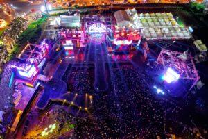 éclairage événementiel concert