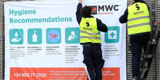 mwc2020 annulé coronavirus