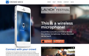 startups événementiel crowd mics