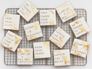 des cookies de quarantaine par les fournisseurs de l'événementiel