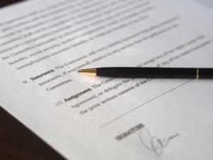 vérifier le contrat pour événement annulé