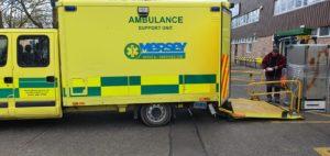 Events 4 Covid 19 met à disposition des ambulances et matériels