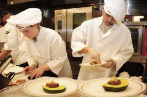 chefs seguindo padrões de higiene'hygiène