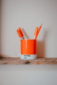 mug porte stylo