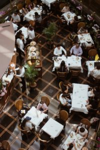 organiser un événement dans un restaurant