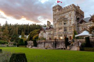 organiser événement dans un château