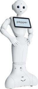 robot pepper pour l'événementiel