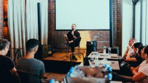 présenter un storytelling événementiel