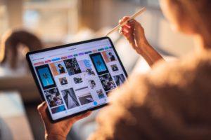 tablette pour digitaliser son événement