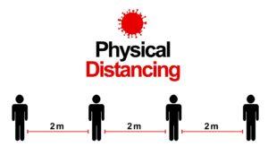 respect de la distanciation sociale