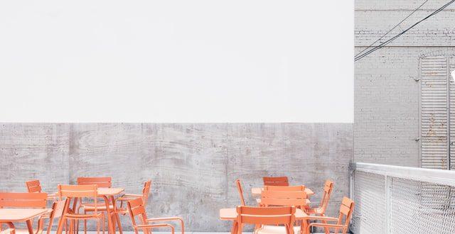 restaurant rooftop, distanciation sociale
