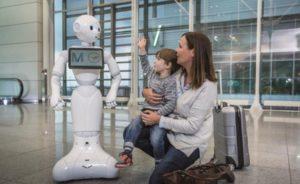 le robot Pepper est un animateur avéré