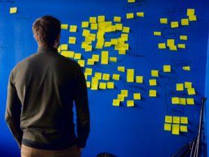 collecte d'idées avec un brainstorming