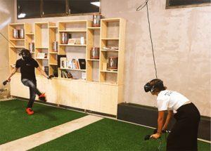 animation football VR pour tout le monde