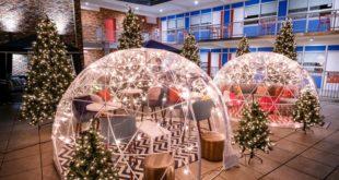 Les hôtels célèbrent les fêtes en toute sécurité