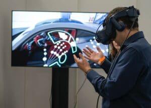 utiliser la réalité virtuelle pendant un événement gaming