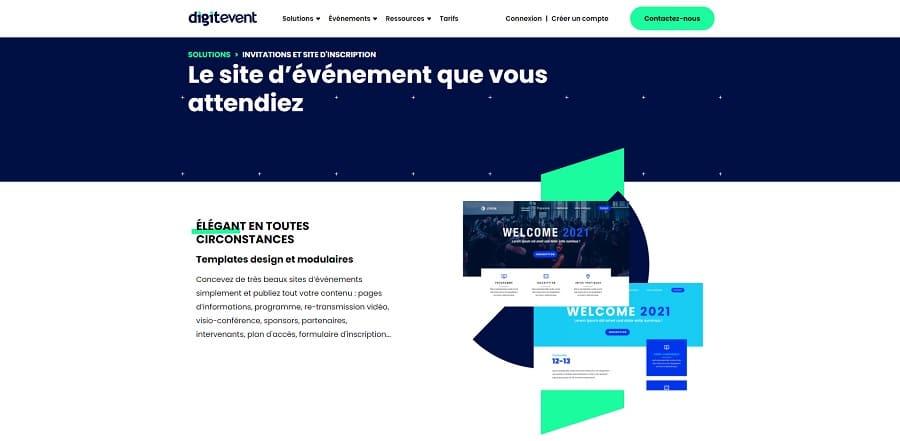 digitevent site web