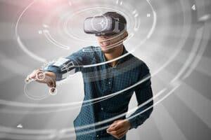 VR dans l'événement hybride
