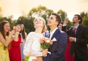 alternatives confettis à un mariage