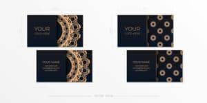 utiliser des cartes de visite wedding planner