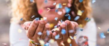 alternatives aux confettis pour votre événement