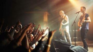 Reprise des concerts live