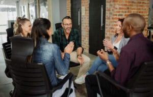 networking privé en groupe
