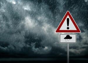 conditions météorologiques imprévisibles pendant un événement