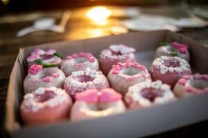 donuts à un mariage